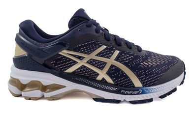 Asics Women's Gel-Kayano 26 1012A457.400 MidnightFrostedAlmond