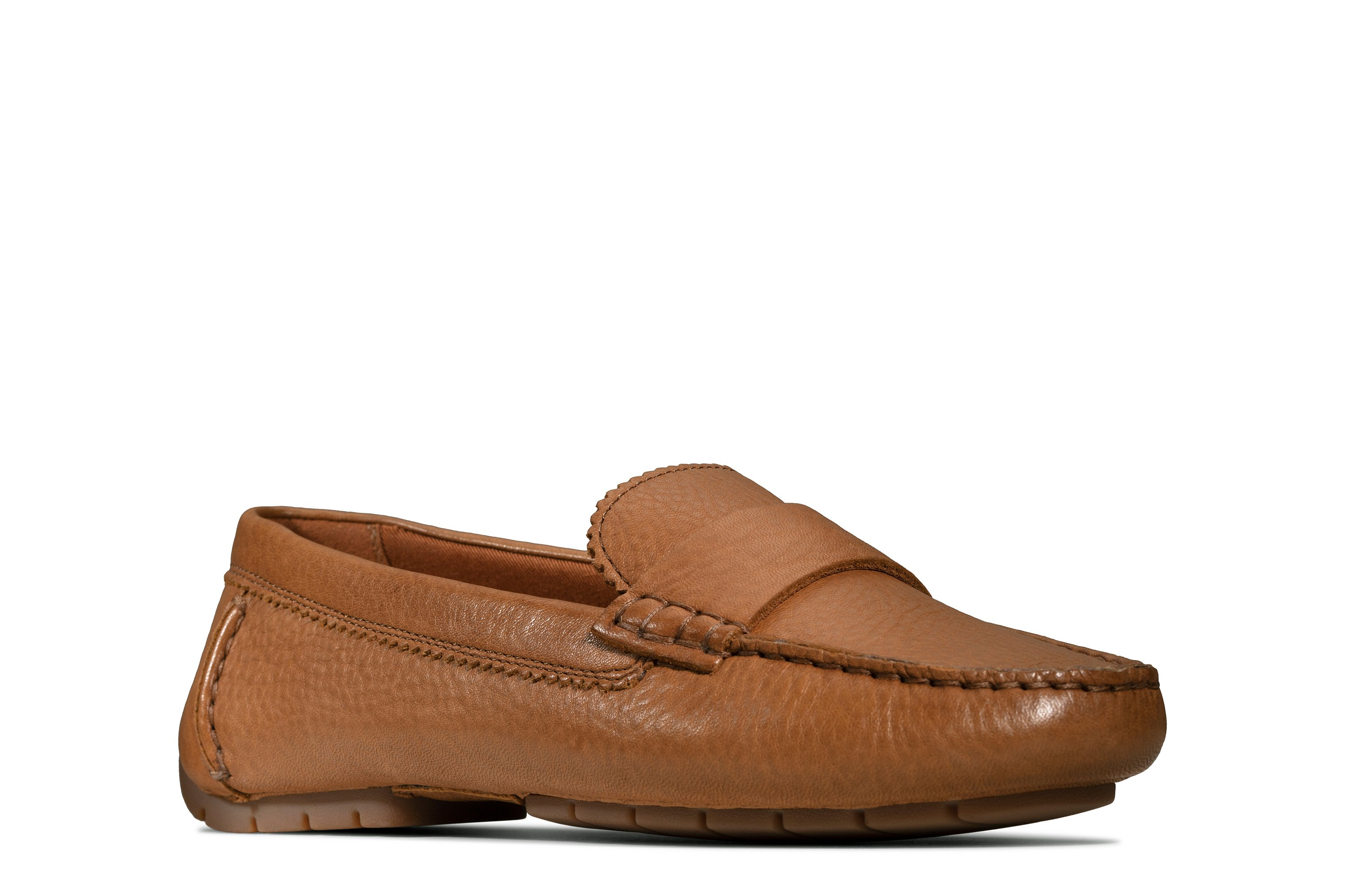 Clarks C Mocc Tan Leather 26147865