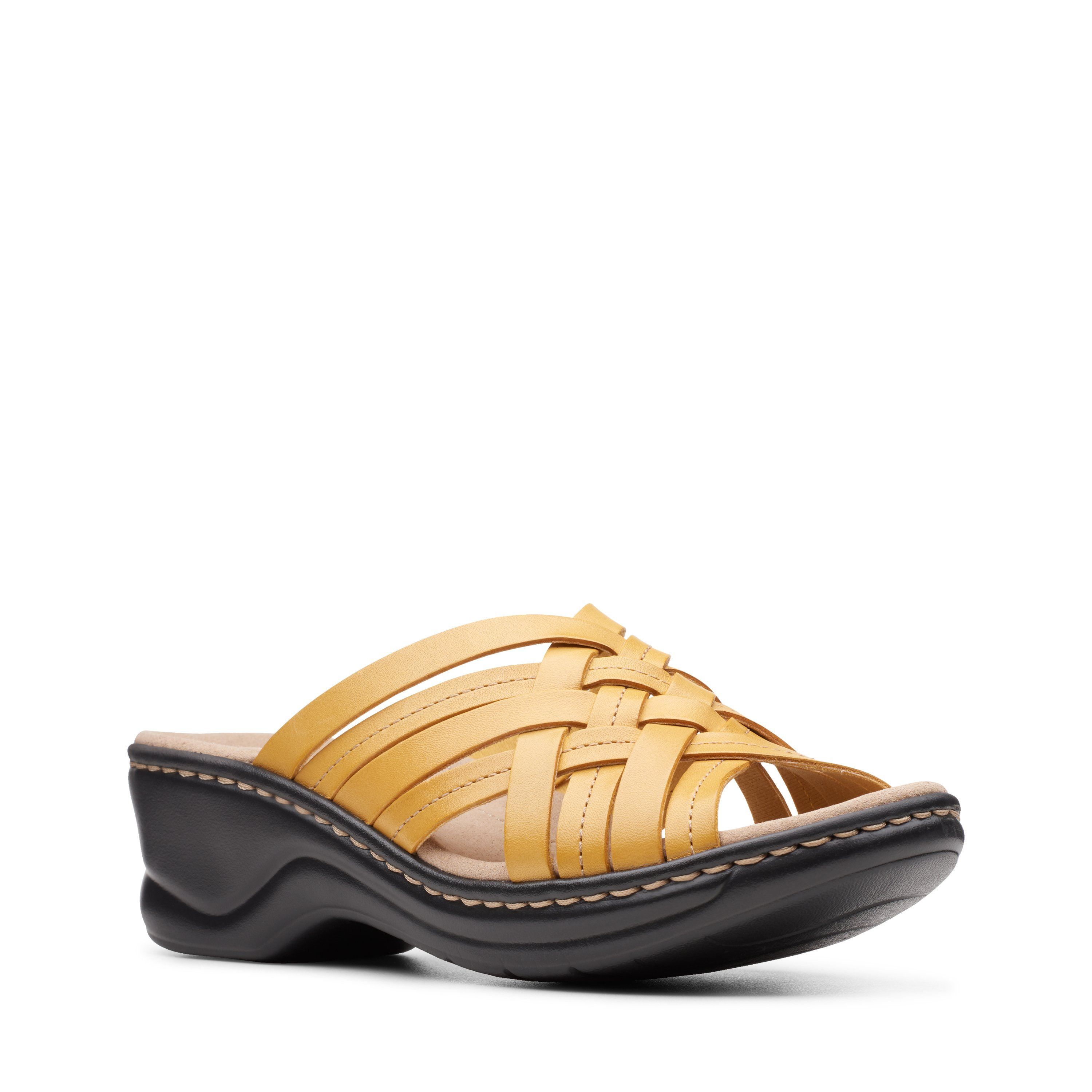 Clarks Lexi Selina Yellow Leather 26148648