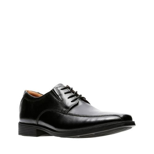 Clarks Tilden Walk 26110310 Black Leather
