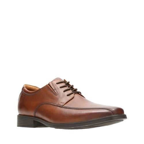 Clarks Tilden Walk 26130095 Tan Leather
