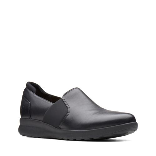 Clarks Un Adorn Step 26136076 Black Leather