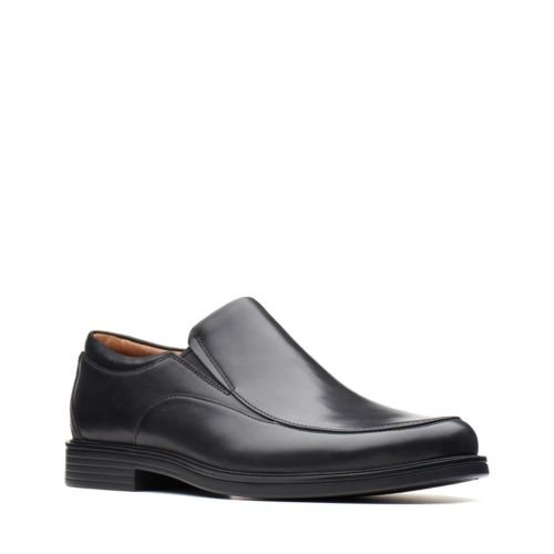 Clarks Un Aldric Walk 26137351 Black Leather Oct 18