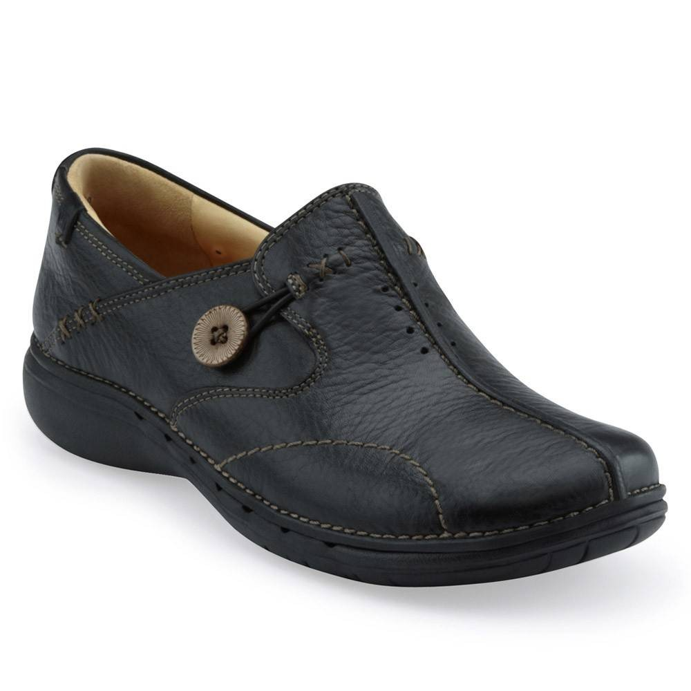 Clarks Un Loop 26085071 Black Leather
