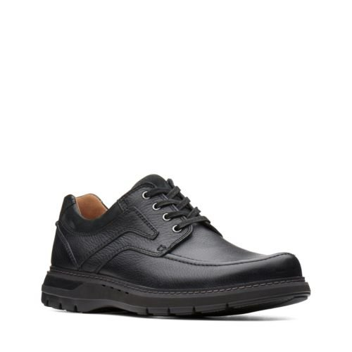 Clarks Un Ramble Lace 26136989 Black Tumbled Leather