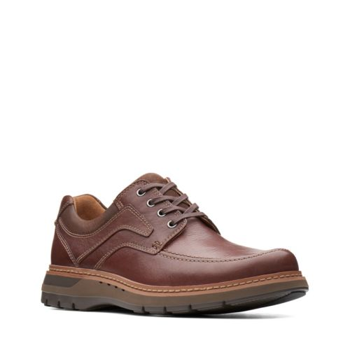 Clarks Un Ramble Lace 26138187Mahogany Leather