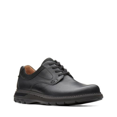 Clarks Un Ramble Lo 26136992 Black Leather