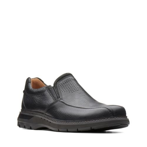 Clarks Un Ramble Step 26136999 Black Leather