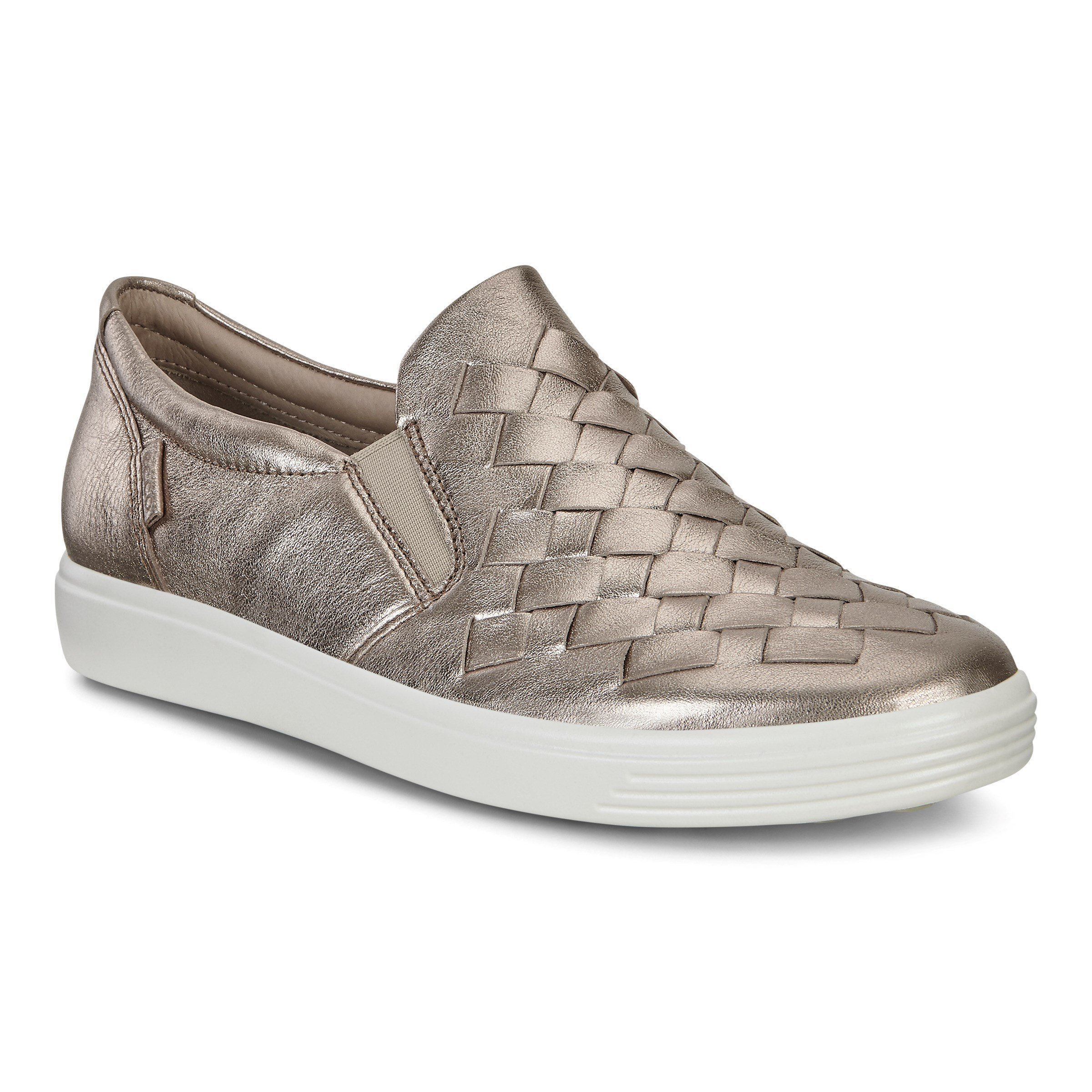 Ecco 430453-01375 SOFT 7 W WARM GREY LYRA METALLIC