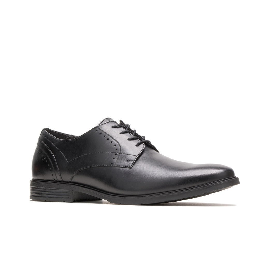 Hush Puppies ADVICE PT DERBY HM02043-007 BLACK LEATHER