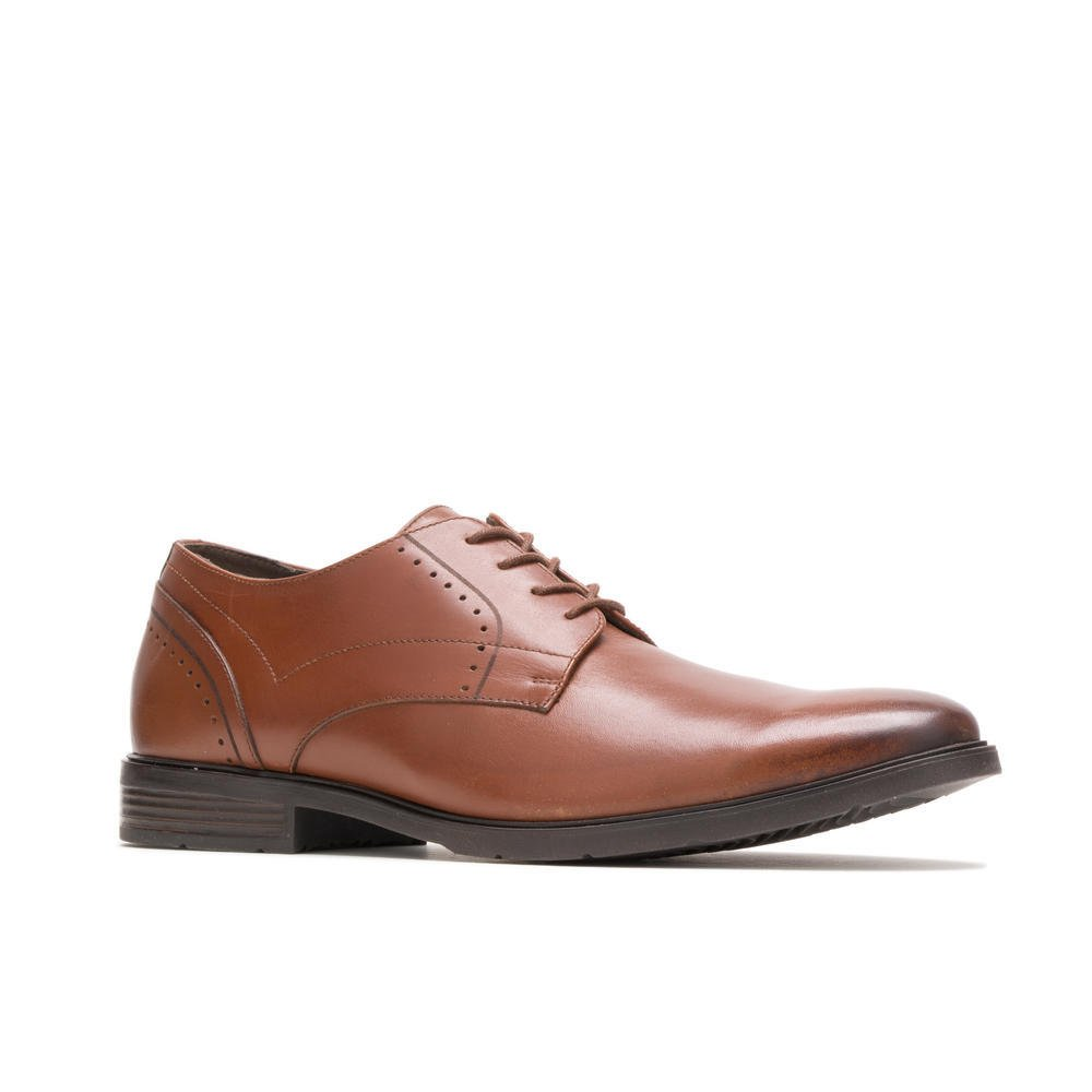 Hush Puppies ADVICE PT DERBY HM02043-211 COGNAC LEATHER