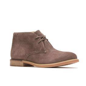 Hush Puppies Women BAILEY CHUKKA BOOTHW06572-208 MUSHROOM SUEDE