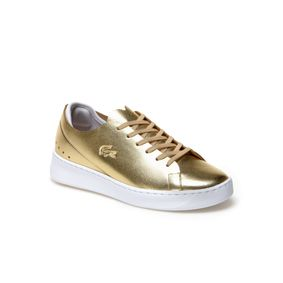 Lacoste EYYLA 3171 GLD W 7-34CAW00112M2 Gold Leather size 5.5,6