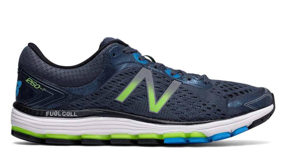 New Balance 1260v7 M1260BB7 Thunder with black
