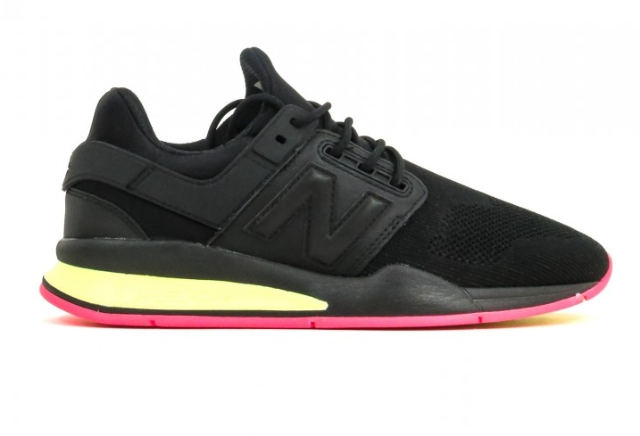 New Balance 247 MS247TT Black Yellow Pink