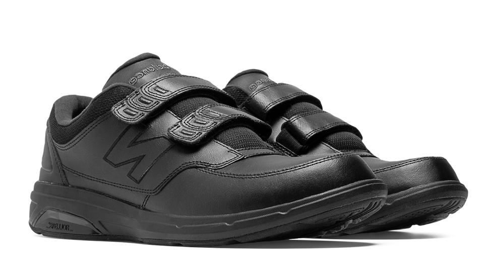 New Balance Men Health Walking 813HV1 MW813HBK Black Roll Bar Black