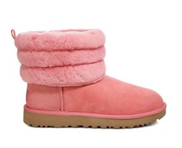 UGG FLUFF MINI QUILTED 1098533 LANTANA size 6,7